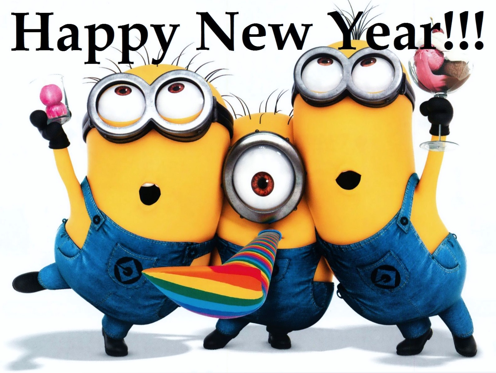 Crazy-Minions-wishing-a-happy-new-year